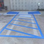 Commerical Parking Lot ADA RAMPS Maintenance. Facility Maintenance Near Me