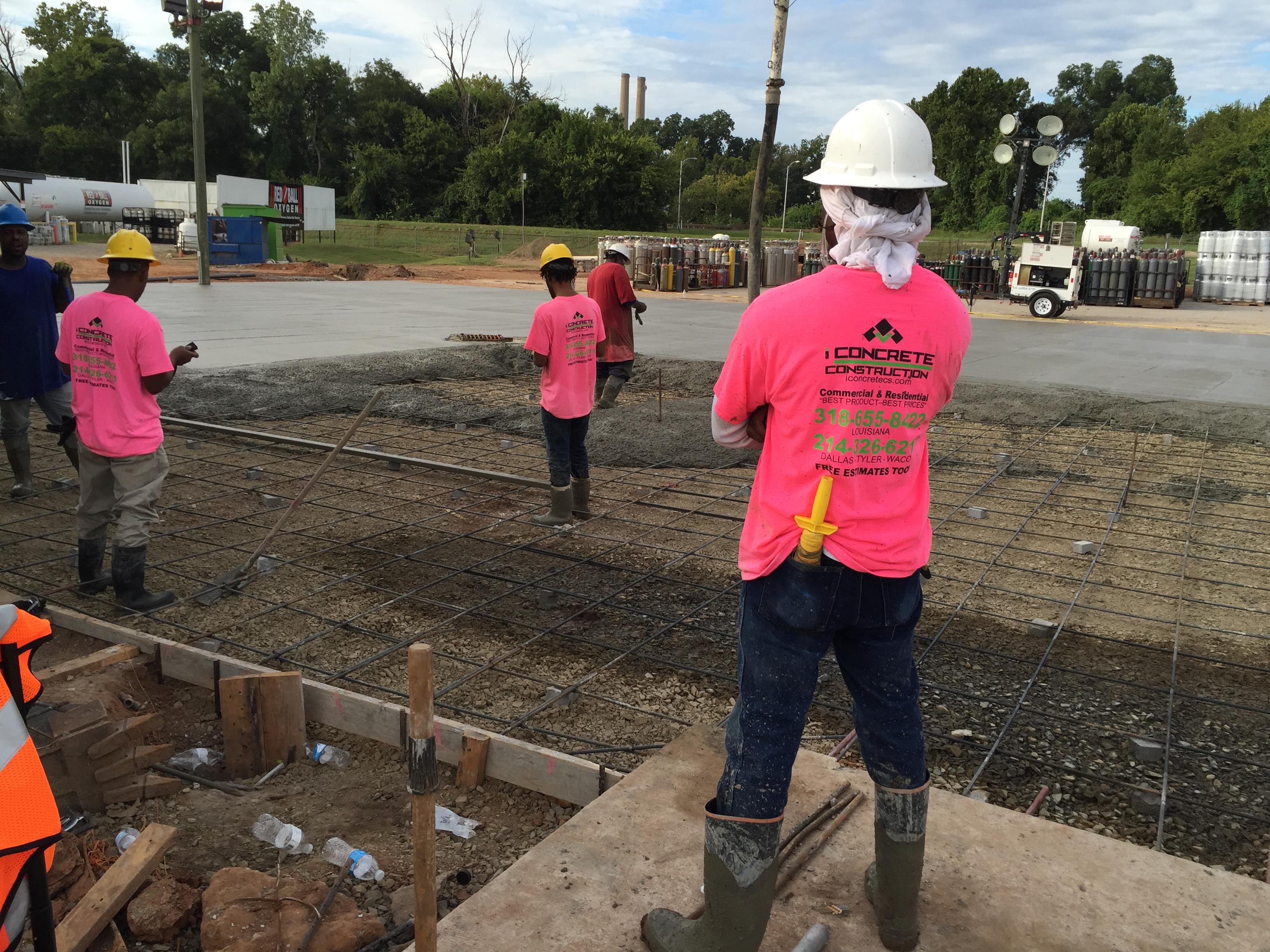 Construction Services Iconcrete Construction